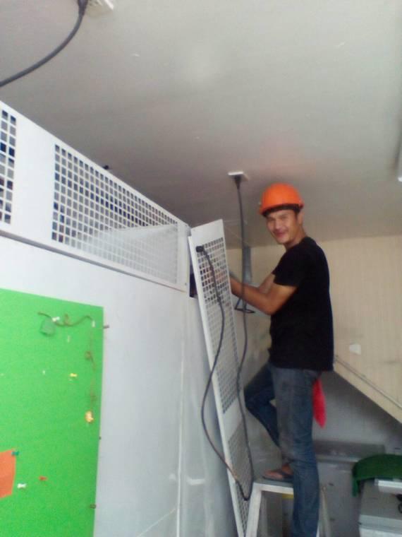 งานบริการล้างระบบตู้แช่ แข็ง