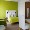 Thumb kombinasi warna putih hijau cat dinding rumah