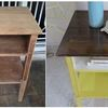 Thumb before after vintage side table
