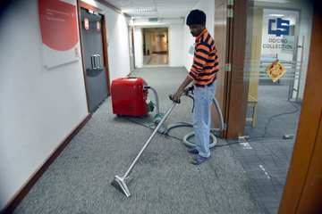Medium carpet cleaning