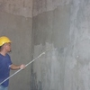 Thumb cemetitious waterproofing