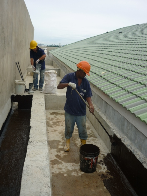 Bituminous Waterproofing Service : Golden channel services sdn bhd recomn