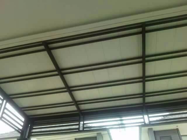 งานหลังคาโครงเหล็ก by อ. เจริญการช่าง - ผสมผสาน เหล็ก สินค้าตกแต่งบ้าน ระเบียง หลังคา กันสาด โรงจอดรถ After Before Before & After - Helpdee.com
