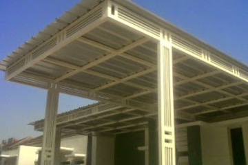 Medium canopy atap spandek surabaya..