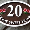Thumb unique hand painted artistic home signs 005