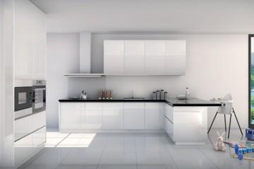 Medium modern kitchen cabinet malaysia