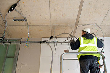Medium modular wiring systems installation