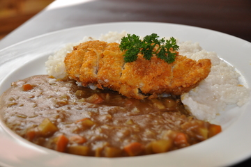 Medium chic katsu curry rice