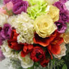 Thumb rose arrangement