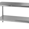 Thumb stainless steel store table