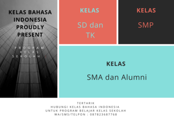 Medium kelas bahasa indonesiaa  1