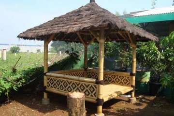 Medium gbr gazebo bambu desainrumah