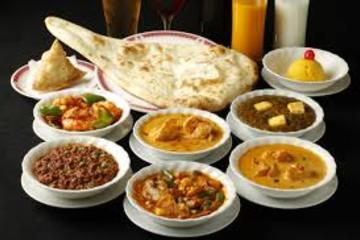 Medium indian set menu