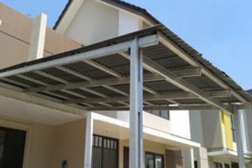 Medium canopy bajaringan atap gogreen standar minimalis harga 270.000.