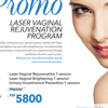 Thumb laser vaginal rejuvenation program