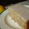 Thumb banana cake with tangy lemon frosting