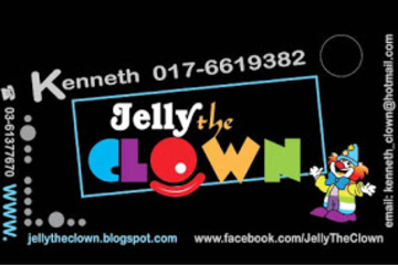 Medium jelly the clown design sam 1