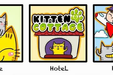 Medium kitten cottage