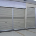 Rolling door one sheet full perforated 6 150x150