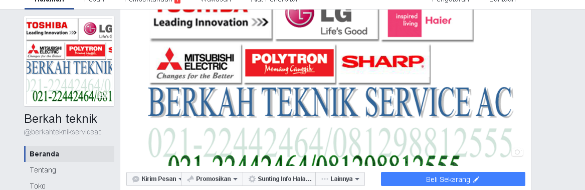Screen shot iklan