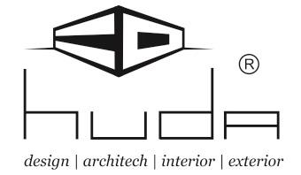 Logo huda archi