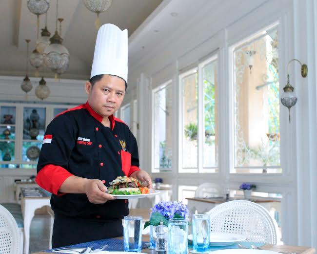 Chef asep photo